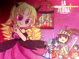 La flora Adventure by NEZUMI-NA