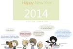 Happy New Year by Nile-kun