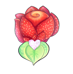 Frutti Flowers : Strawberry Rose by karsisMF97