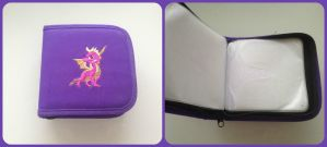 ( Spyro the Dragon ) Official CD Wallet by KrazyKari