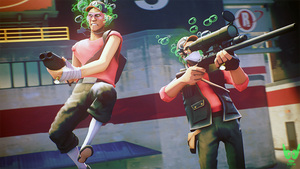 Team Fortress 2 (TF2) - Scout and Sniper by ViewSEPS