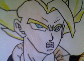 Another Gogeta Drawing by LamePie