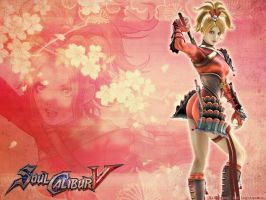 Wallpaper Soul Calibur V Natsu by shirotsuki-hack