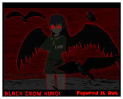 Black Crow Kuroi by Dragoshi1