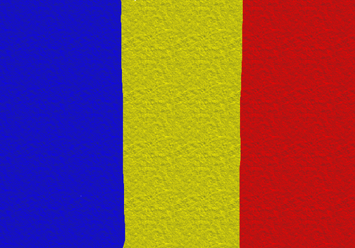 Romanian Flag (Concrete) by Chugoku40009