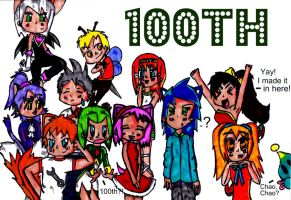 100th Deviation  xD by Amy-pink