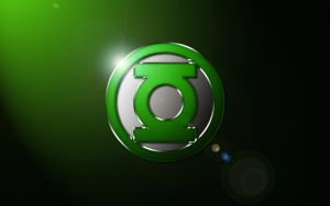 Green Lantern Classic Logo Wallpaper by SUPERMAN3D