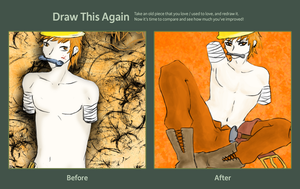 Draw This Again: Handy by BlackBeeBee