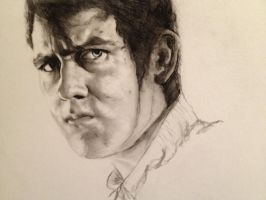 Neville Longbottom Charcoal Drawing :) by Sampl3dBeans