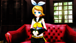 Saihate - Kagamine rin append sweet by caio4856