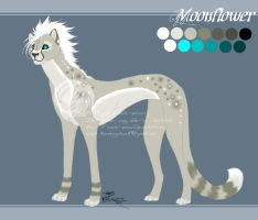 Moonflower Reference Sheet by soulspoison