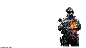 Battlefield 3 Wallpaper Right by SimpleWallpapers