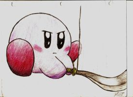 Kirby colored and scanned by ProNorst