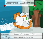 Sheltered Falls -Marlin- by Apricotthevixen
