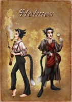 Detective Shylock Holmes by quotidia