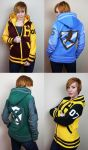 Custom Handmade Harry Potter Letterman Jackets by Lisa-Lou-Who