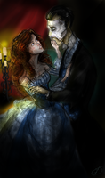 Tonight and Forever I am Your Living Bride by nightmarefreak101