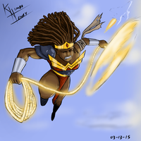 Making Racists Angry - Black Wonder Woman by Kimbo-Henry