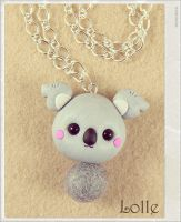 Clay Flurry Koala by LolleBijoux