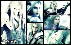 Sephiroth Wallpaper by REQ-Flames