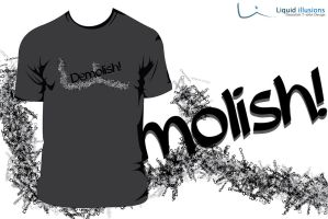 Demolish t-shirt Design by FT69