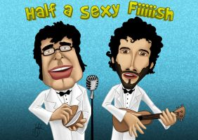 Flight of the Conchords... by baldmonk