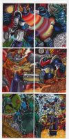 Super Robot Kards Set 1 by fbwash