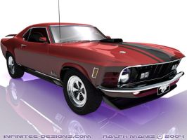 1970 Ford Mustang Mach 1 by mach100