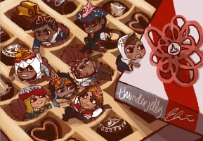 AC: CHOCOSSASSINS by thunderjelly