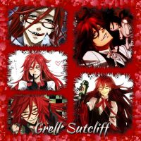 Grell Sutcliff collage by Xendrak18