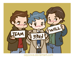 SPN - Team Free Will by caycowa