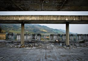 Decaying residence on the hills XV by SilvieTepes