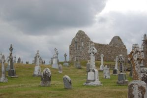 Ireland: Graveyard of Athlone6 by Amliel