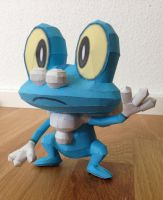 Froakie Papercraft by giden445