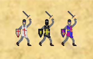 The 8bit Crusade by godstroke