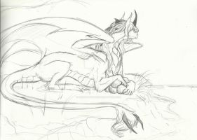 Commish WIP- Perfect Timing by Earthsong9405