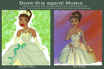Draw This Again! - Princess Tiana by SpicePrincess