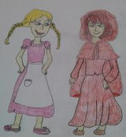 Request 15: Gretel and Roux by Sparrow12592