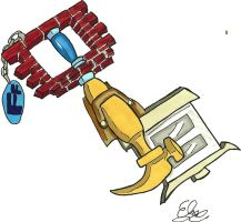 Keyblade Design- Fix it Felix jr by Project-GAME