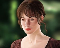 Keira Knightley by A-Man-With-No-Art