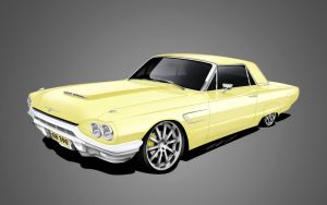 1965 Ford Thunderbird by dazza-mate