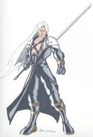Final Fantasy VII- Sephiroth by RobertMacQuarrie1