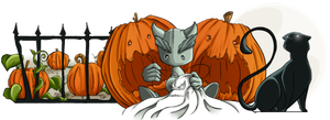 Spooky Crafts Contest Banner by NikiVandermosten