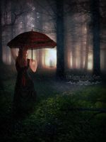 Waiting in the Rain by Josiane-Rey