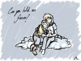 Can you hold me forever? by ClaireAnneCarr