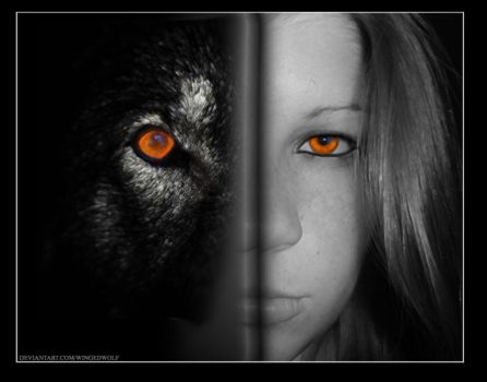 The Wolf Within 2 by wingedwolf