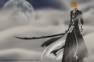New Ichigo Bankai by iAbadon
