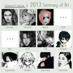 Dangitzada's 2013 Art Summary by Dangitzada