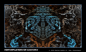 contemplations on existence by fraterchaos