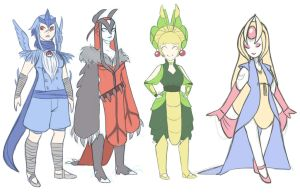 Pokemon Costumes by thedandmom